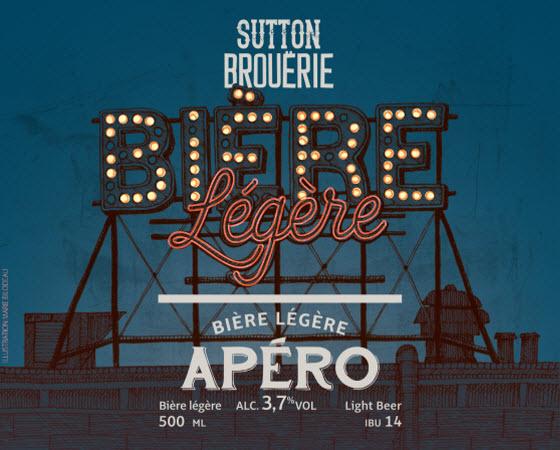 Apéro - Bière de microbrasserie | Bière de table | Auberge Sutton Brouërie