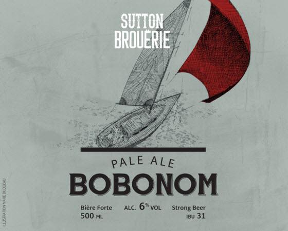 Bobonom - Bière de microbrasserie | Bière Pale Ale | Auberge Sutton Brouërie