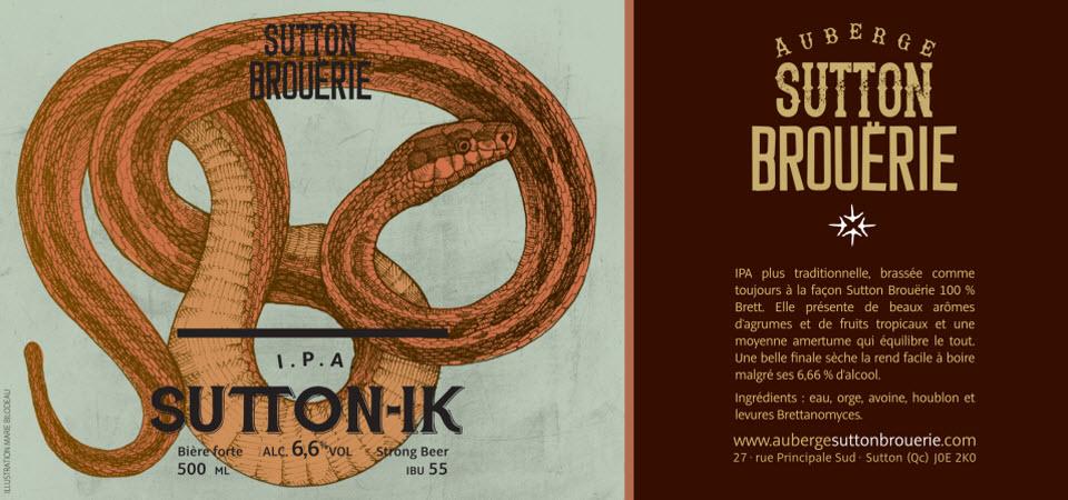 Sutton-IK - Bière de microbrasserie | Bière IPA | Auberge Sutton Brouërie