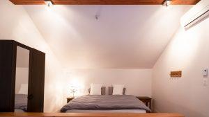lit king mezzanine chambre 3