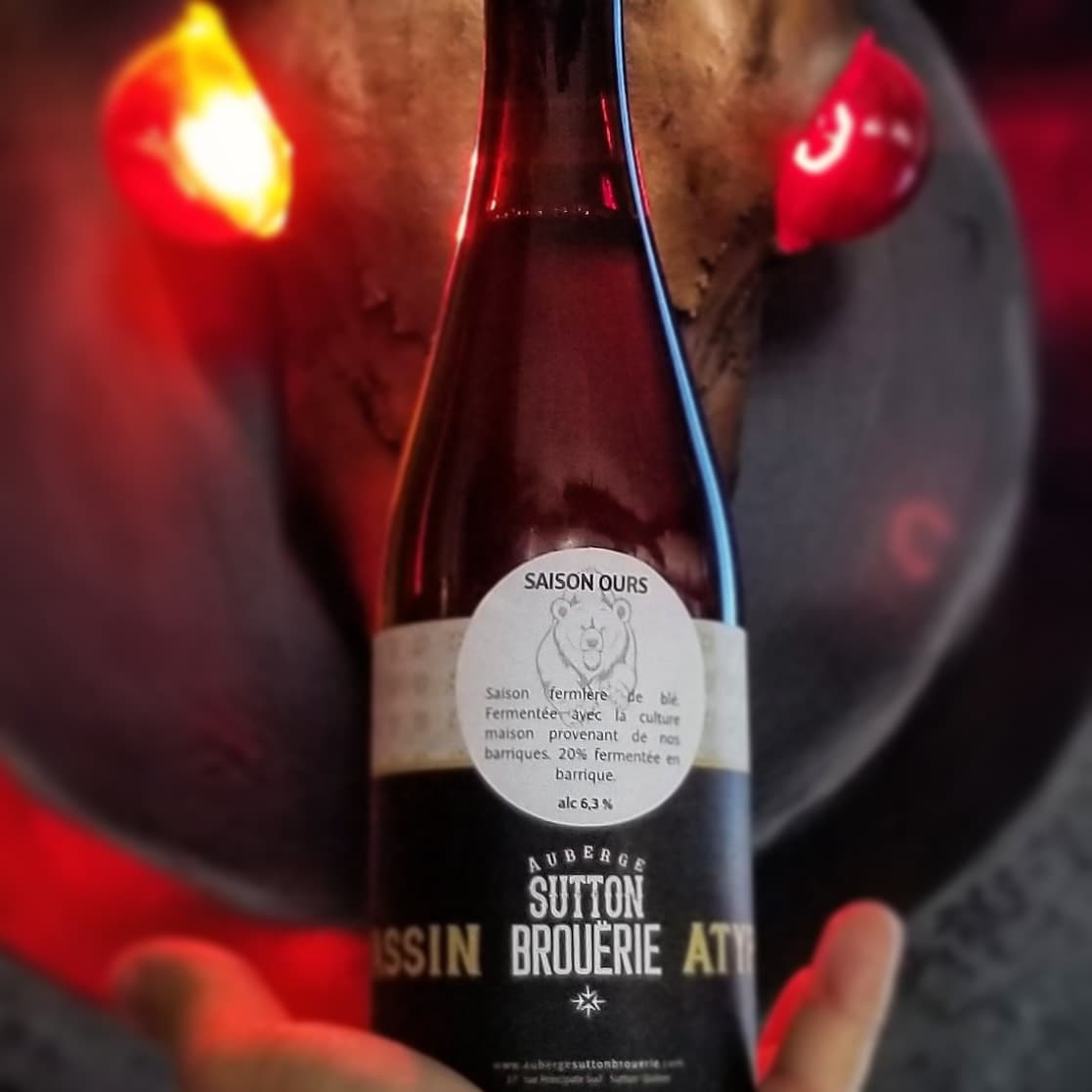 Bière Brassin Atypique de Microbrasserie | Restaurant, auberge et microbrasserie située en Estrie | Auberge Sutton Brouërie