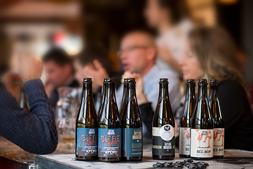 Bières de microbrasserie de L'Auberge | Restaurant, auberge et microbrasserie | Auberge Sutton Brouërie