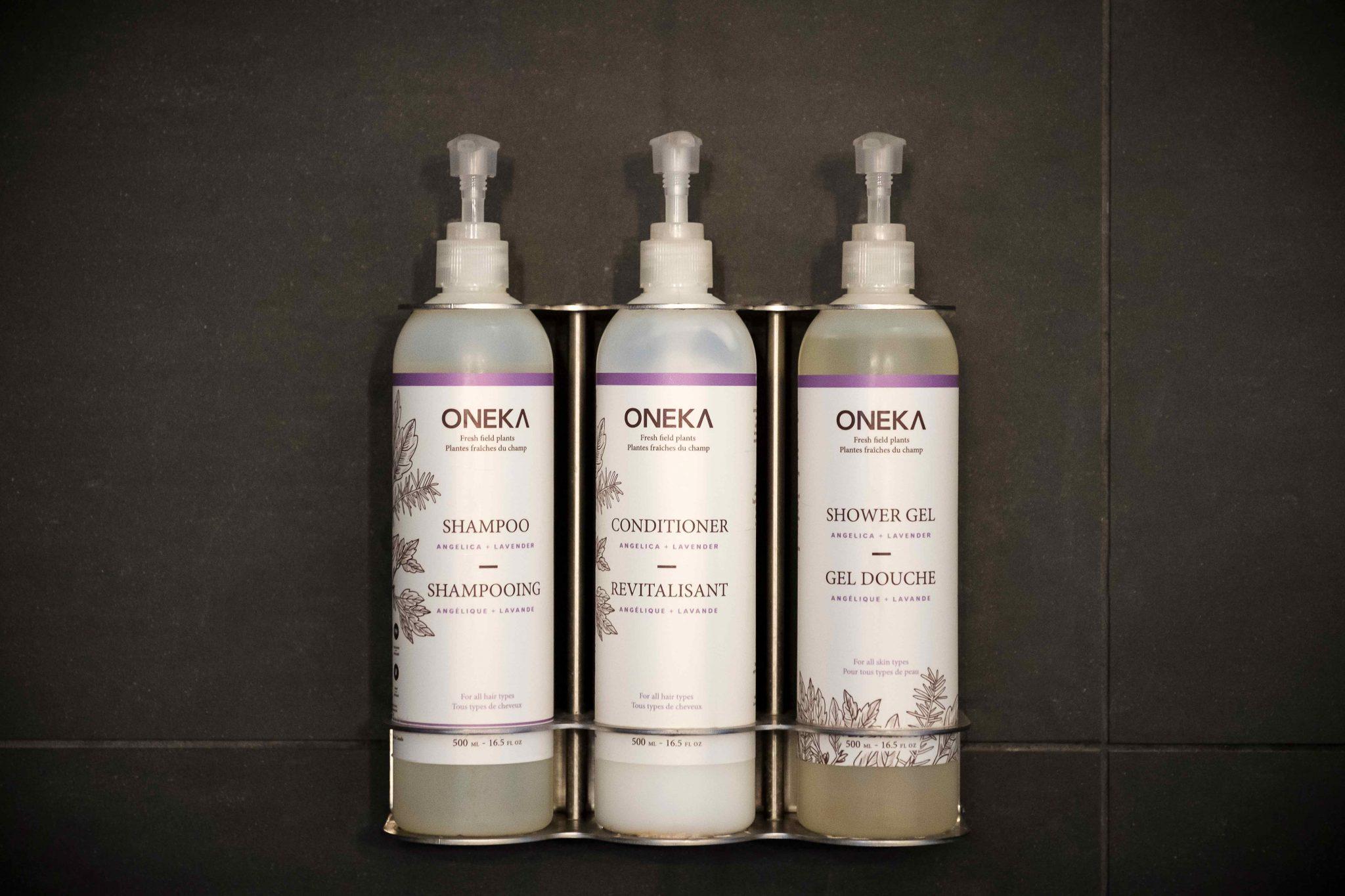 Chambre #1 - Produits Oneka | Hébergement à Sutton, Estrie | Auberge Sutton Brouërie