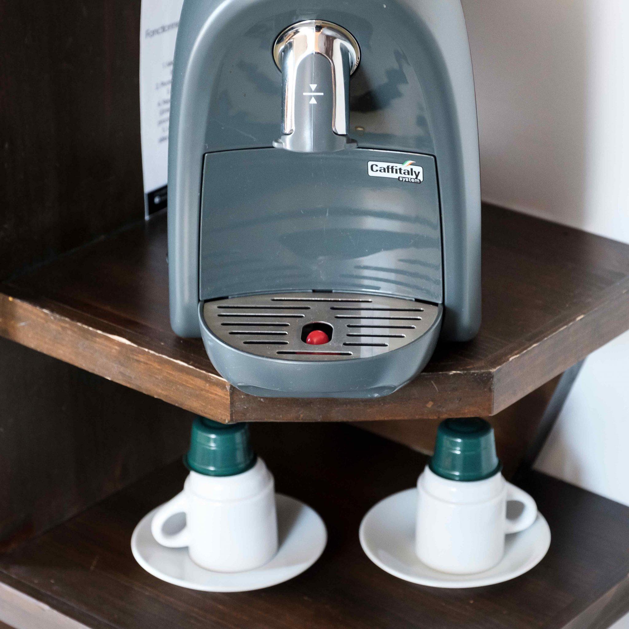 Les chambres de l'Auberge - Commodités-café | Hébergement à Sutton, Estrie | Auberge Sutton Brouërie