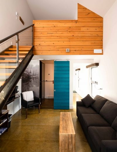 Chambre #1 - Rez-de-chaussée | Hébergement à Sutton, Estrie | Auberge Sutton Brouërie