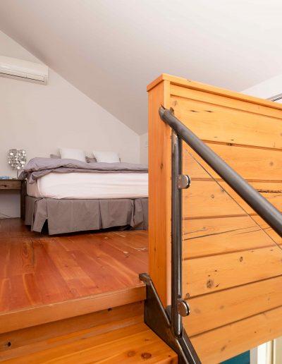 Chambre #1 - Mezzanine | Hébergement à Sutton, Estrie | Auberge Sutton Brouërie