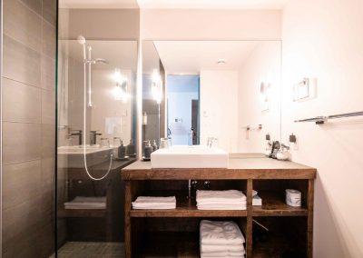 Chambre #2 - Salle de bain | Hébergement à Sutton, Estrie | Auberge Sutton Brouërie