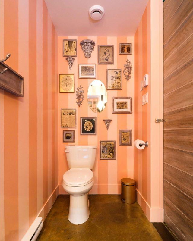 Chambre #3 - Décoration salle de bain | Hébergement à Sutton, Estrie | Auberge Sutton Brouërie