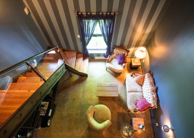Chambre #3 - Vue de haut | Hébergement à Sutton, Estrie | Auberge Sutton Brouërie