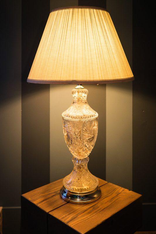 Chambre #3 - Lampe | Hébergement à Sutton, Estrie | Auberge Sutton Brouërie