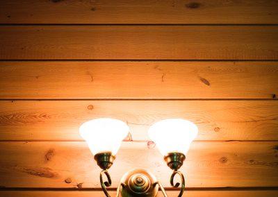 Chambre #4 - Luminaire | Hébergement à Sutton, Estrie | Auberge Sutton Brouërie