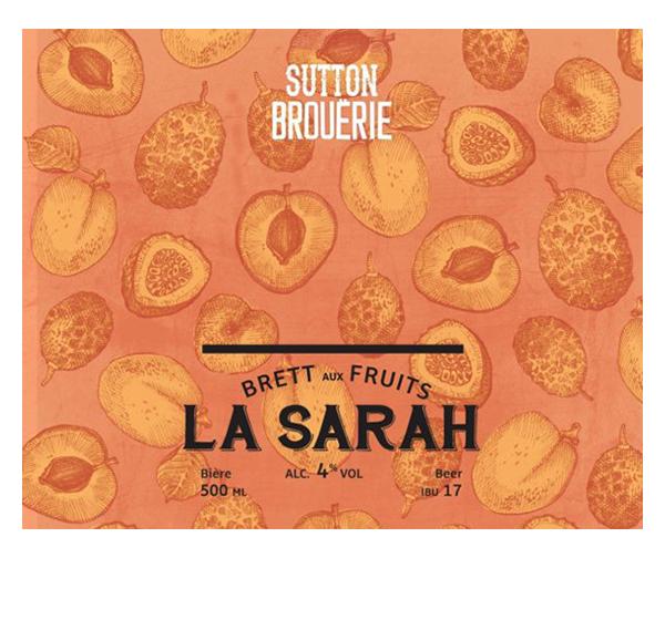 La Sarah - Bière de microbrasserie | Bière Brett aux fruits | Auberge Sutton Brouërie