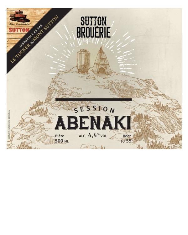 Abénaki - Bière de microbrasserie | Bière Session | Auberge Sutton Brouërie