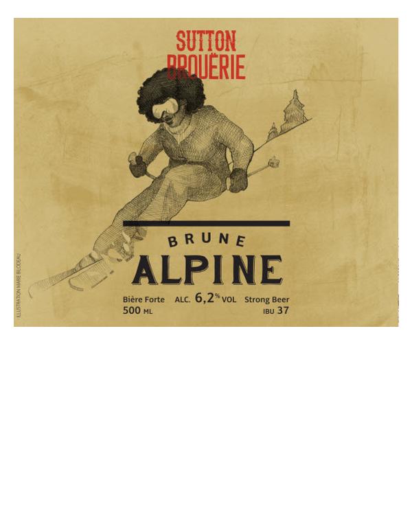 Alpine - Bière de microbrasserie | Bière Brune Américaine | Auberge Sutton Brouërie