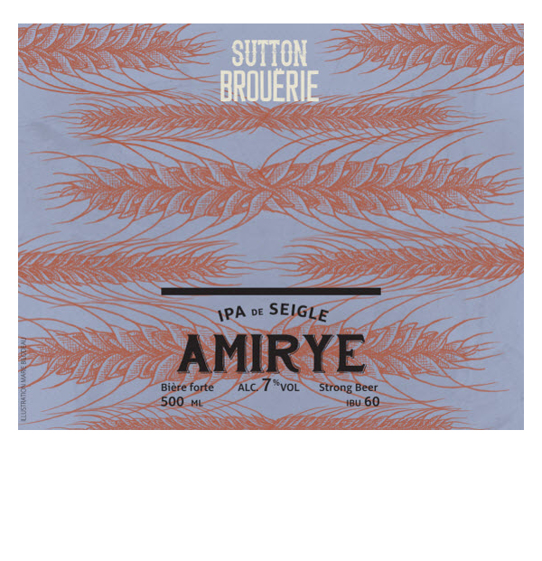 Amirye - Bière de microbrasserie | Bière IPA | Auberge Sutton Brouërie