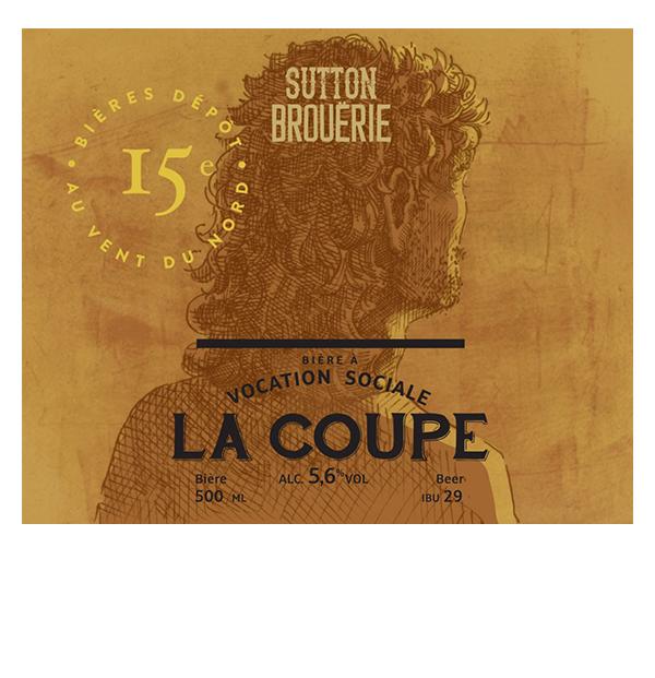 La coupe - Bière de microbrasserie | Bière Brett Collaborative-Brett saisonnière-Saison | Auberge Sutton Brouërie