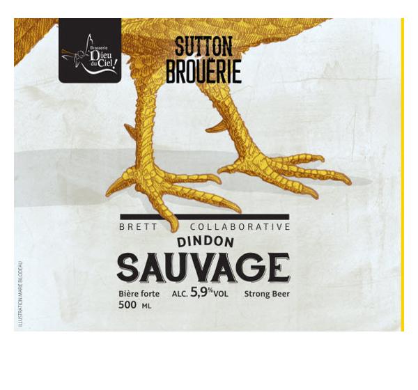 Dindon sauvage - Bière de microbrasserie | Bière Brett Collaborative | Auberge Sutton Brouërie