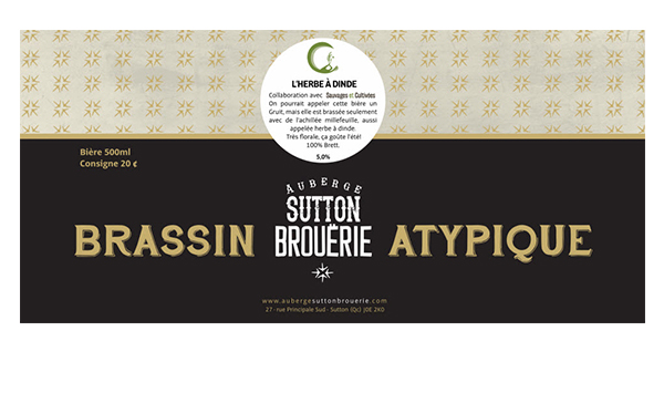 Herbe à dinde - Bière de microbrasserie | Bière Brett Collaborative | Auberge Sutton Brouërie