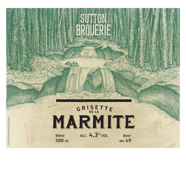Grisette de la marmite - Bière de microbrasserie | Bière Saison | Auberge Sutton Brouërie