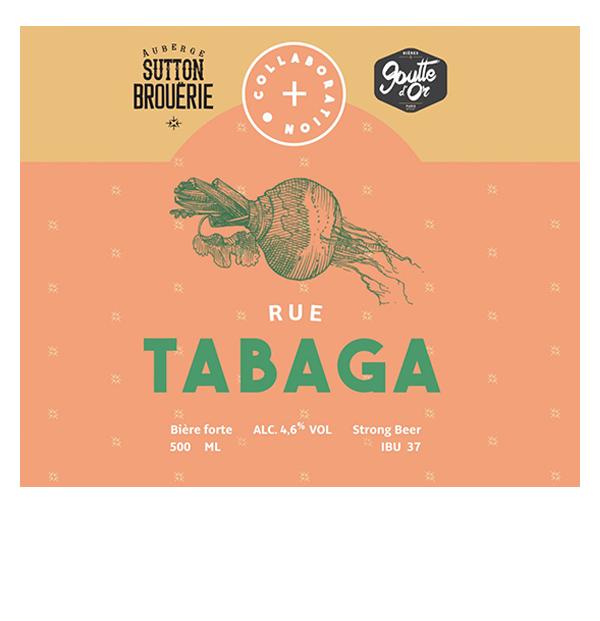 Rue Tabaga - Bière de microbrasserie | Bière Brett Collaborative | Auberge Sutton Brouërie