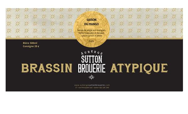 Saison du Mango - Bière de microbrasserie | Bière Saison | Auberge Sutton Brouërie