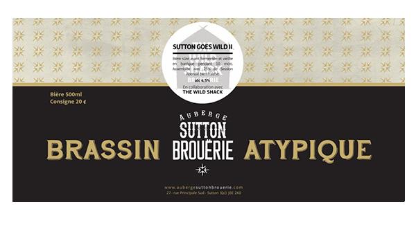 Sutton goes wild ll - Bière de microbrasserie | Bière Brett Sûre | Auberge Sutton Brouërie