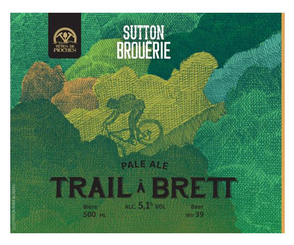 Trail à Brett - Bière de microbrasserie | Bière Pale Ale | Auberge Sutton Brouërie